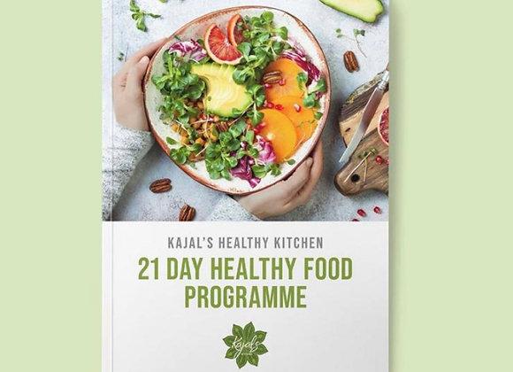 Kajal's Healthy Recipe e-book Vol.1