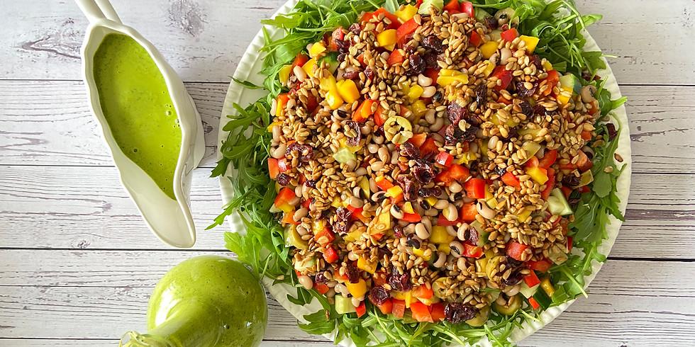 NEW - Spring Super Salad Class | 24 April | ONLINE WORKSHOP