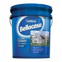 Tinta Bellacasa Acrílico Semibrilho Standard Branco 18L