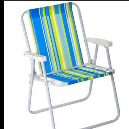 Cadeira Alta Aço 2002