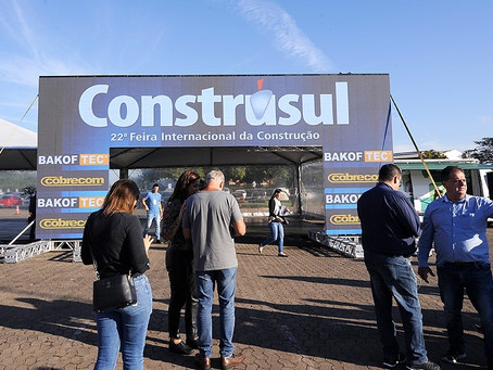 Em formato 100% digital, Construsul começa hoje e segue até 30 de novembro