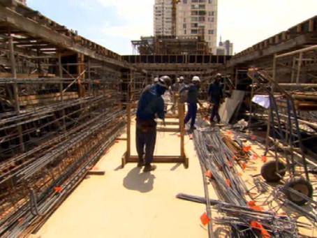 Falta de materiais pode prejudicar a retomada da construção civil