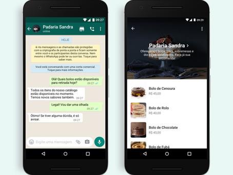 Whatsapp lança botão que permite compras diretamente pelo aplicativo