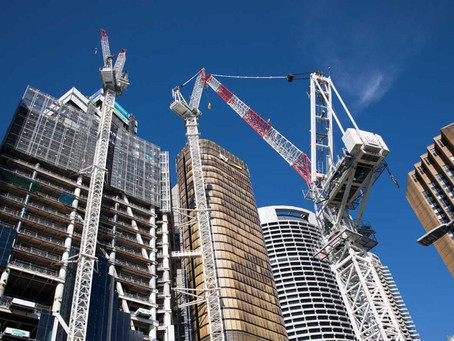 Dados FGV: mercado da construção