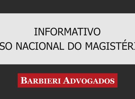 Informativo Piso do Magistério
