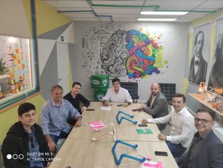 Reunião com Redes de Materiais de Construção na ANAMACO