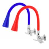 Torneira Color Duo Parede 1/4 Volta cores - ref. 1174