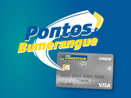 Cartão Rede construir lança campanha de resgate de pontos para os clientes do cartão