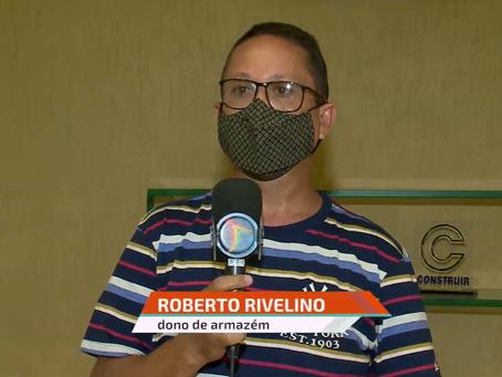 ACONTECE NA REDE: Lojista da regional ALOMACO-PE participa de matéria sobre o segmento no SBT-Recife