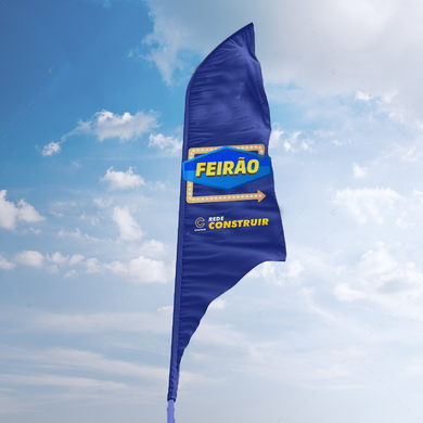 Wind Banner Fly - EVENTO EXCLUSIVO LOJA