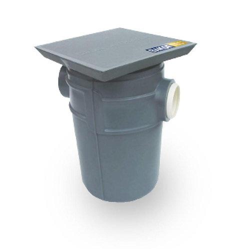 Caixa de Gordura 18L c/ cesto removível Polietileno