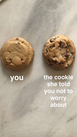 Use chocolate chips and chunks