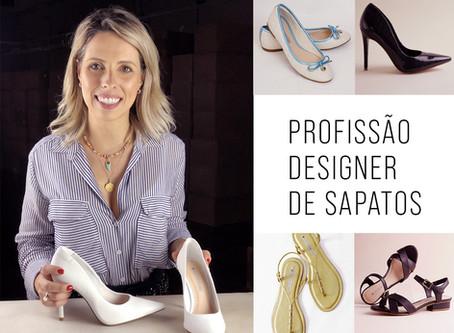 Profissão designer de sapatos