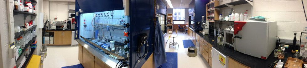 View of our laboratory