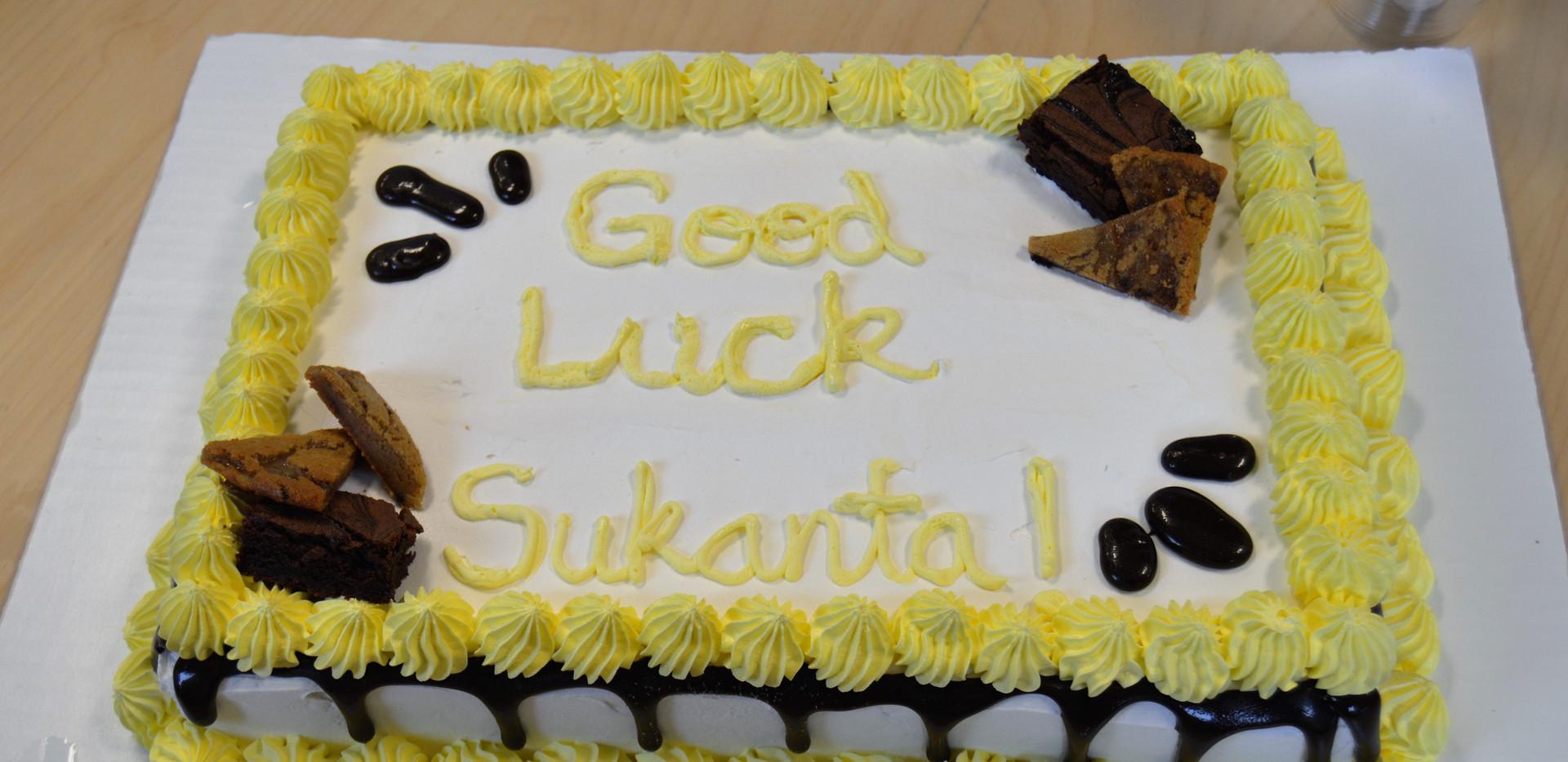 Sukanta's Fairwell Party
