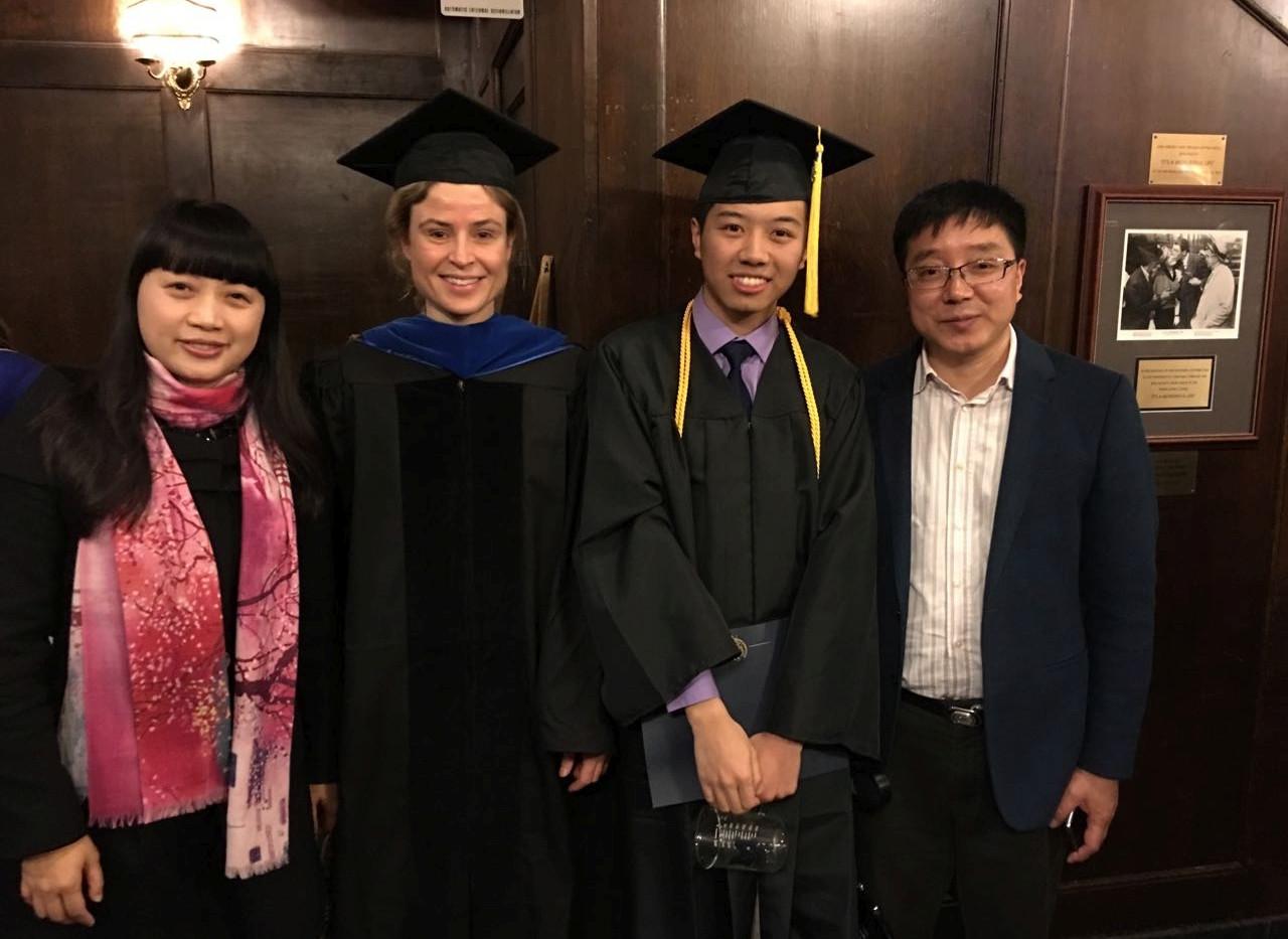 Qiuhan Graduation 2016