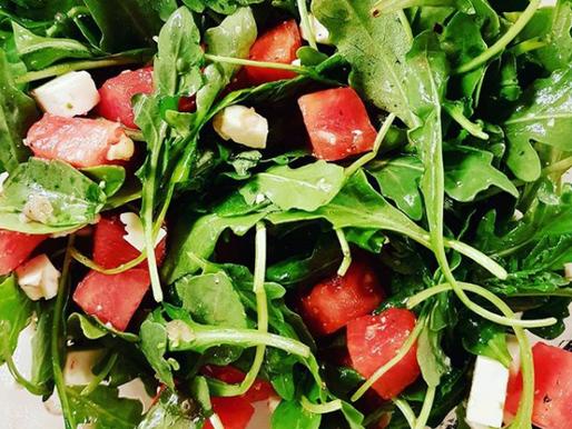 Seasonal Recipe: Arugula, Watermelon and Feta Salad