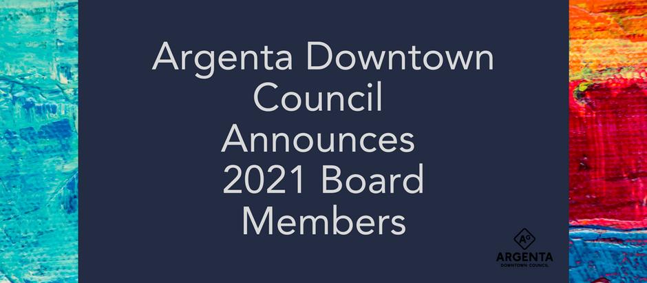 Announcing 2021 New Board Members