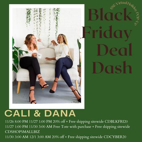 ~ Black Friday Deal Dash ~