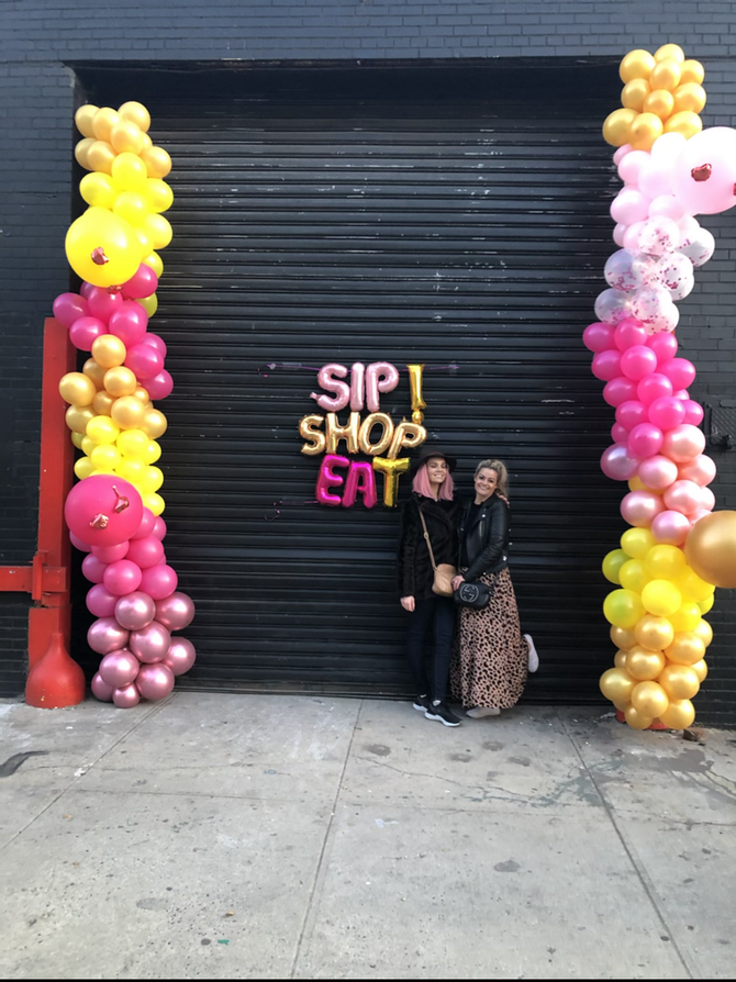 Discover & Shop Small Businesses IRL  at Sip Shop Eat Pop-UP November 14–15th