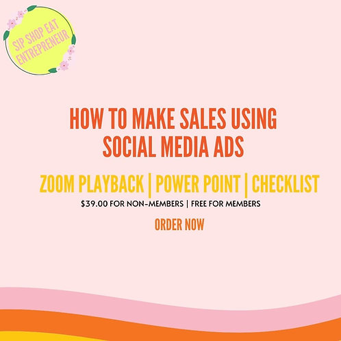 How to make sales using Facebook & Instagram ads