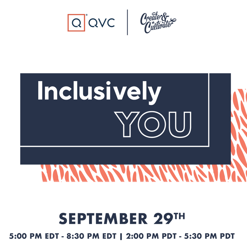 QVC Inclusively You 9/29