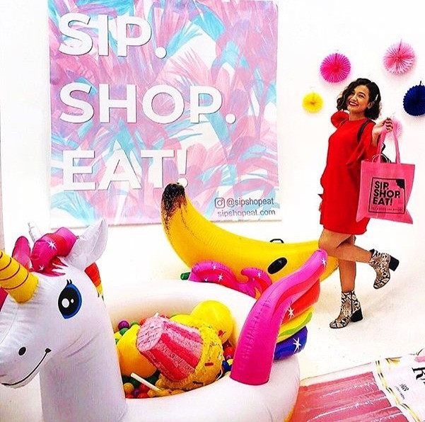 New York Pop UP shop for small businesses and people who shop small