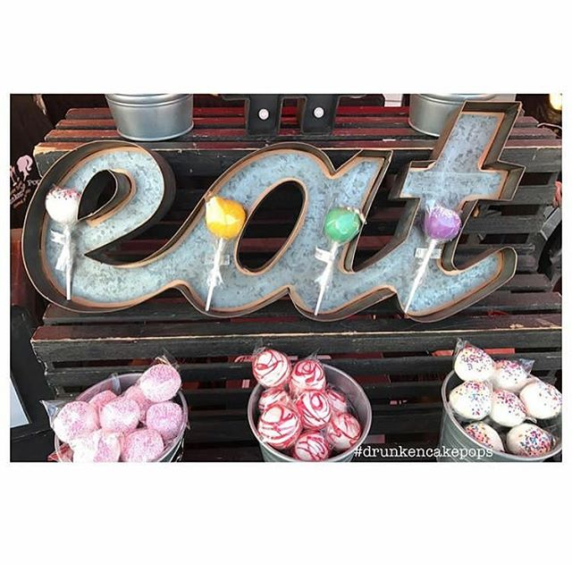 EAT! _drunkencakepops at The Collective Market • December 10th • 1054 S