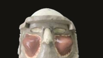 Gelatin Cheekbone Prosthetic