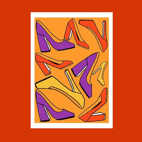 Sixties art print