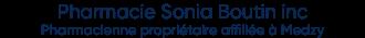 Pharmacie Sonia Boutin incPharmacienne p