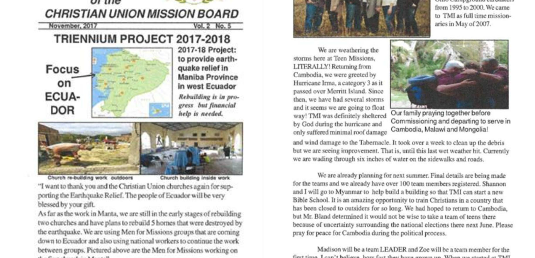 November 2018 Bulletin