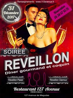 Flyer REVEILLON RESTO