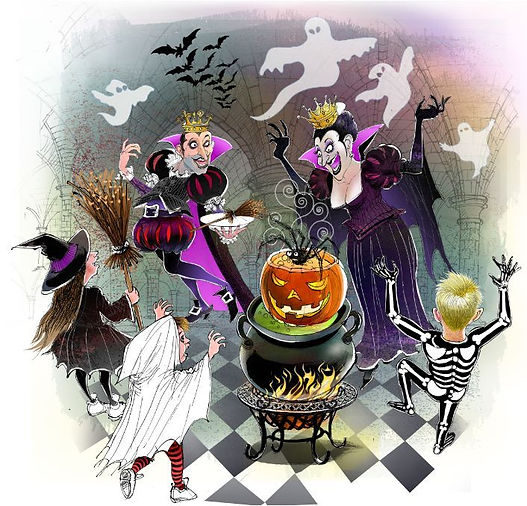 Halloween at Spooks' Palace - Peter's Pi