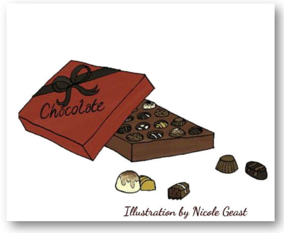 Chocolate - Enticingly Tempting - Headin