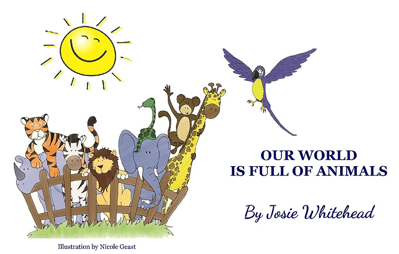 Our World is Full of Animals - Heading .