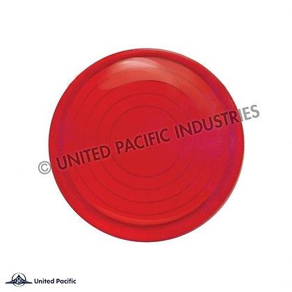 Peterbilt Round Dome Light Lens - Red