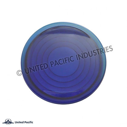 Peterbilt Round Dome Light Lens - Blue