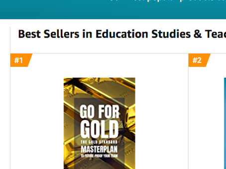We made it!  #1 Best Seller Status