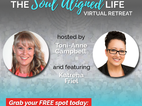 FREE Invitation to join The Soul Aligned Life Virtual Retreat