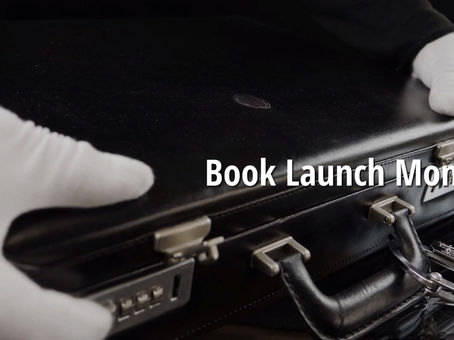 Book Launch on Monday