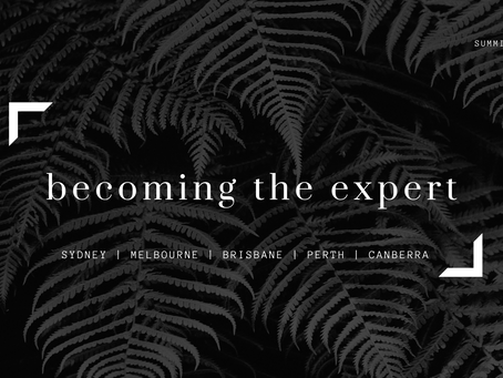 Becoming the Expert Summit 2021