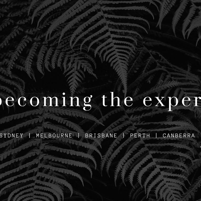 Becoming the Expert Perth Summit 2021