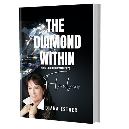 SIGNED PAPERBACK The DIAMOND WITHIN