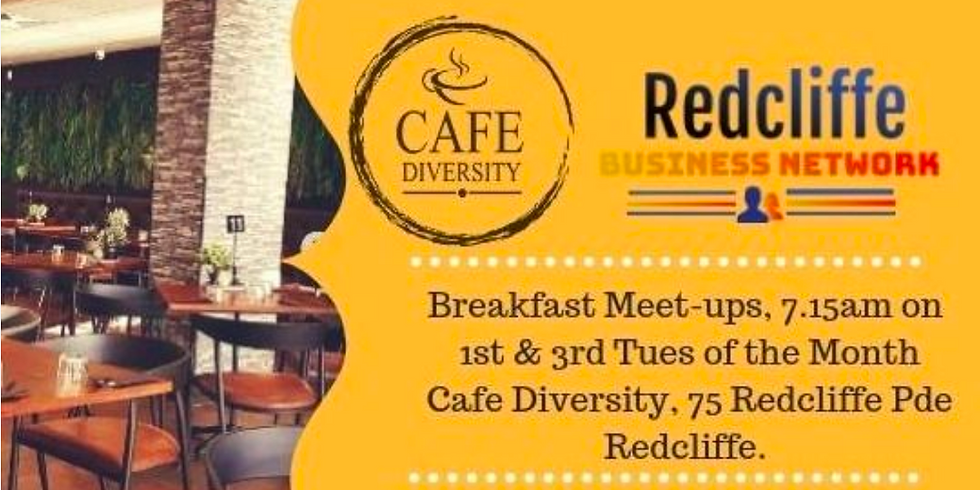 Redcliffe Business Network Featuring special guest speaker Leanne Blaney