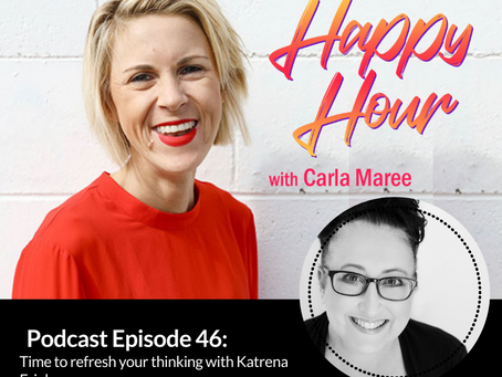 Interview:  The Happy Hour with Carla and Katrena