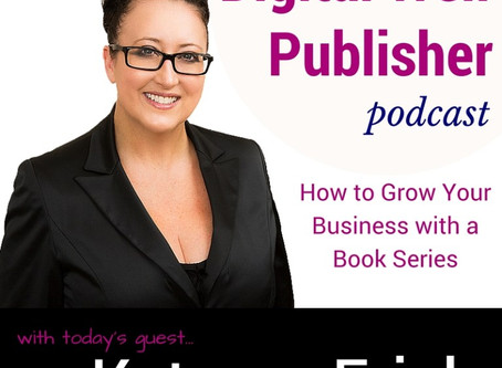 PODCAST:  #LISTEN: Katrena Friel, Serial Entrepreneur + Best Selling Author