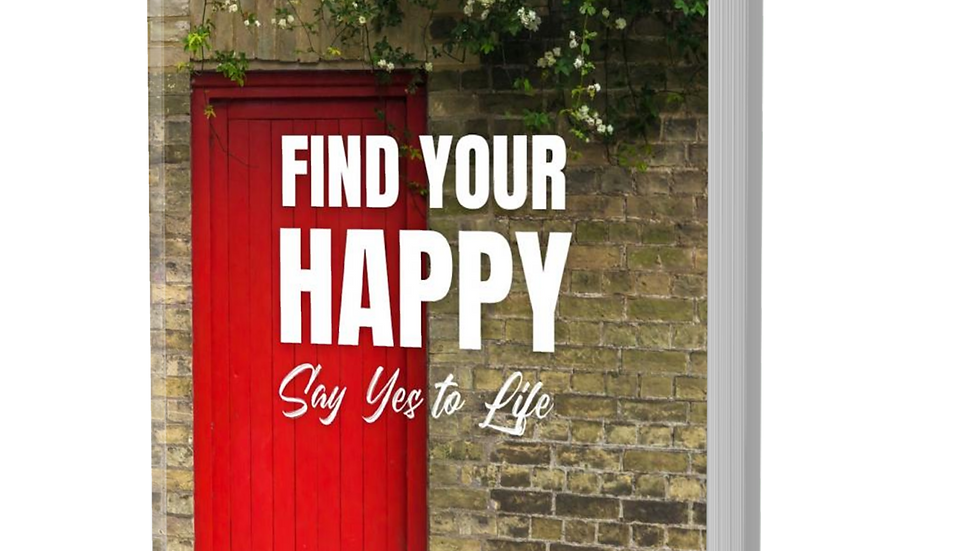 Book FIND YOUR HAPPY