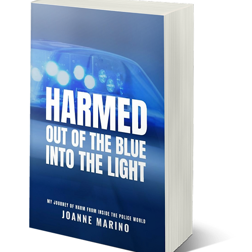 SIGNED PAPERBACK HARMED The 3rd Book in the Series