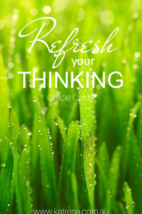 Refresh your Thinking Oracle Cards